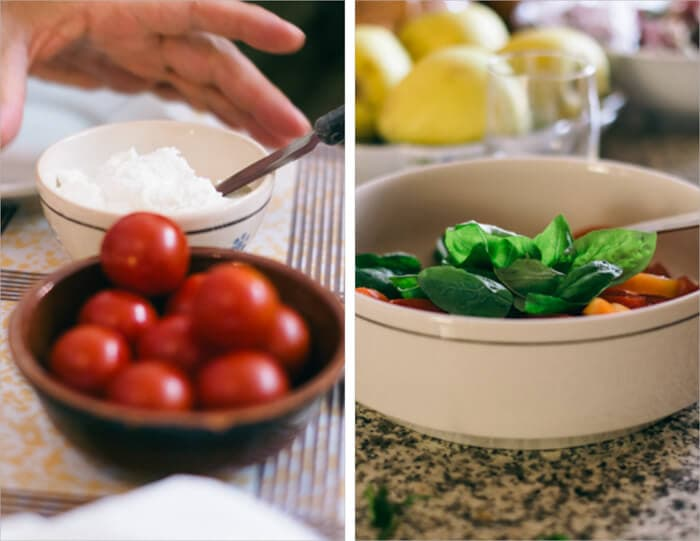 Tartine Sourdough Bruschetta Recipe, Tomatoes and Basil