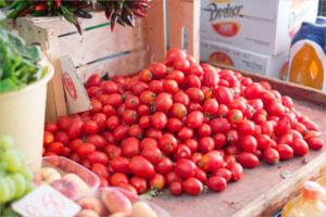 Cherry Tomatoes For Tartine Sourdough Bruschetta Recipe