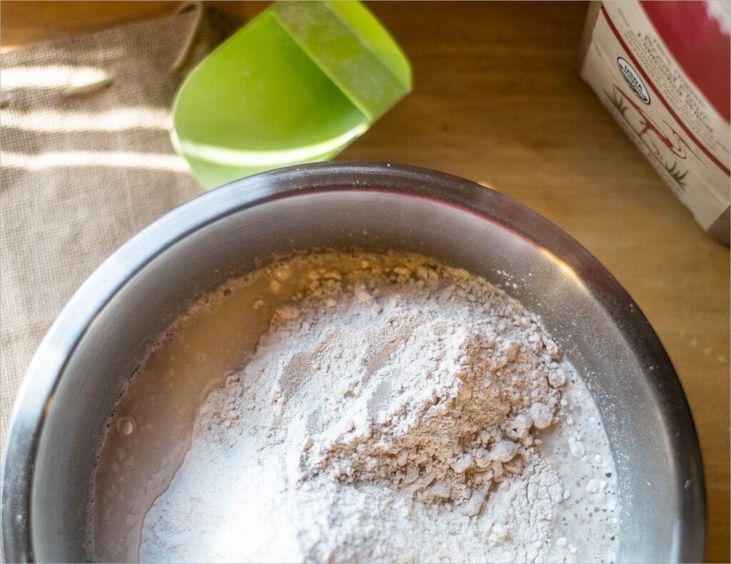 a return to basics White and Whole Wheat Flours