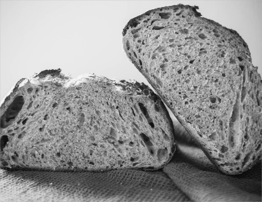 Tartine Sourdough Wheat Germ Experiment