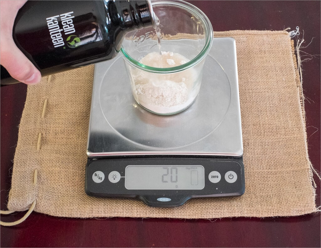 Create your own sourdough starter yeast