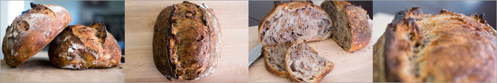 Tartine country walnut sourdough on Food Travel Thought