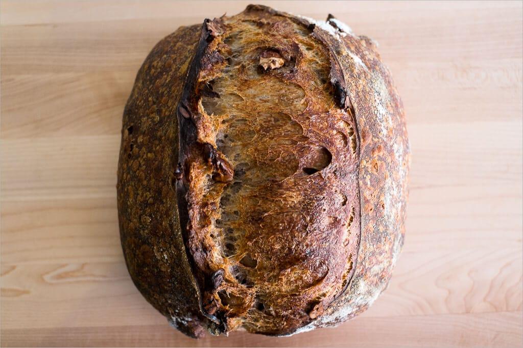 Tartine country walnut sourdough