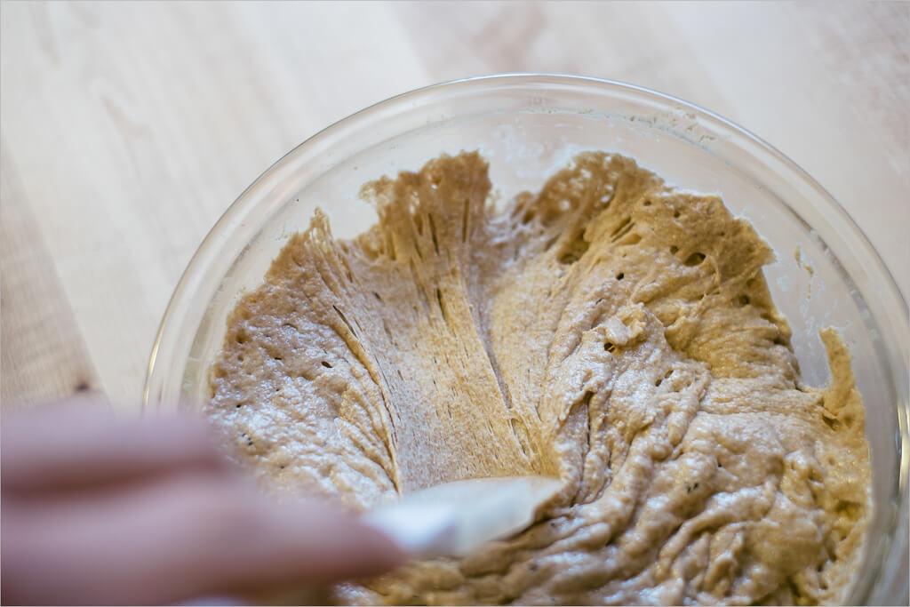 Sourdough starter (yeast)