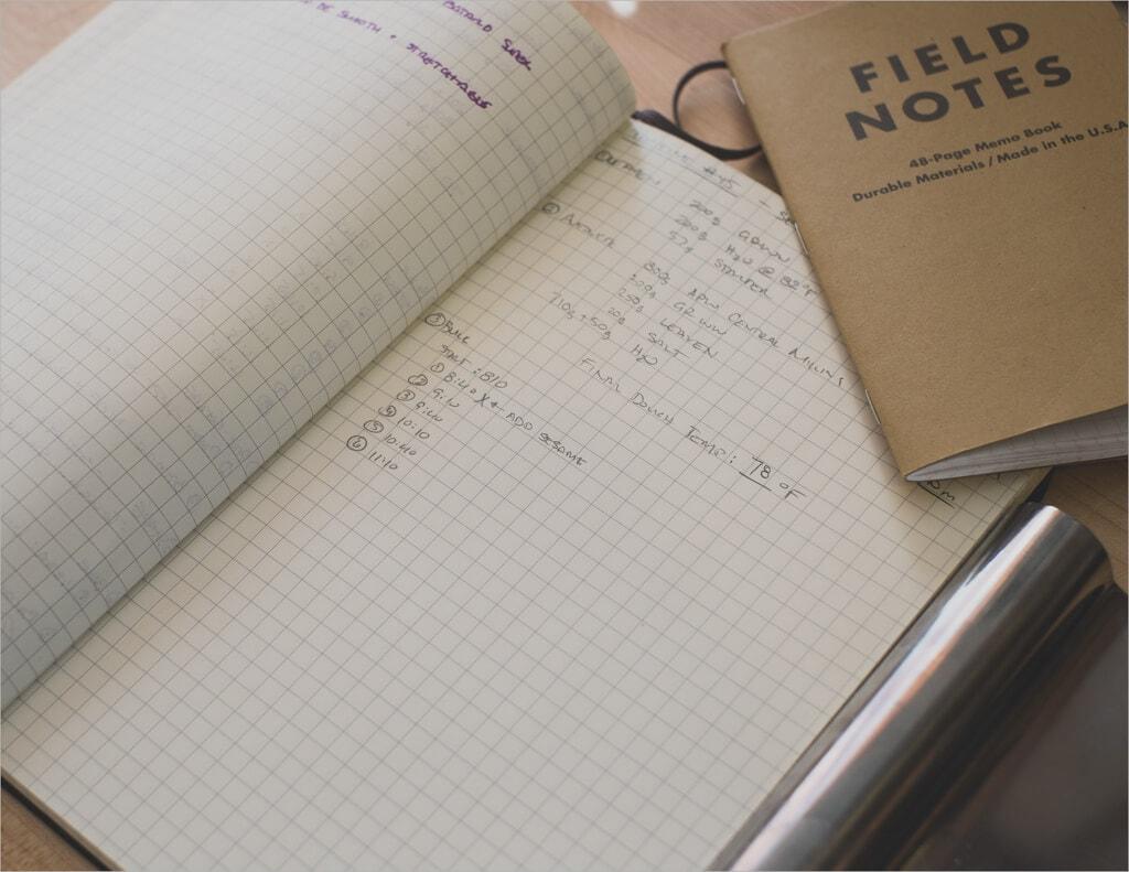 Tartine Country Sesame Sourdough Field Notes Moleskine