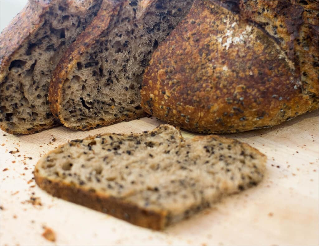 Tartine Country Sesame Sourdough Sandwiches