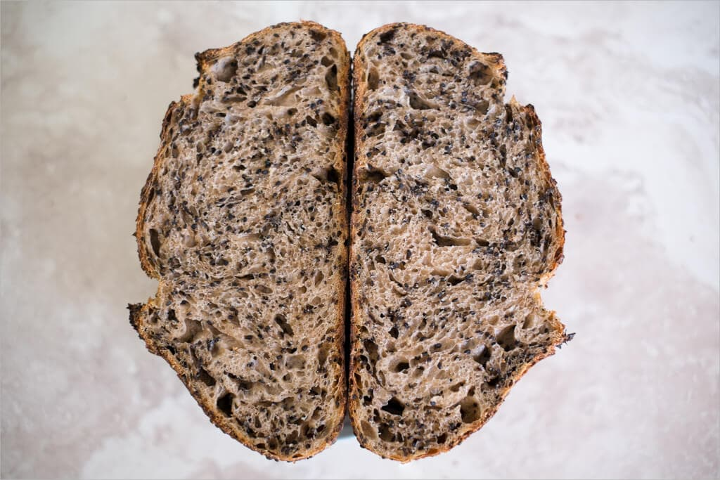 Tartine Country Sesame Sourdough