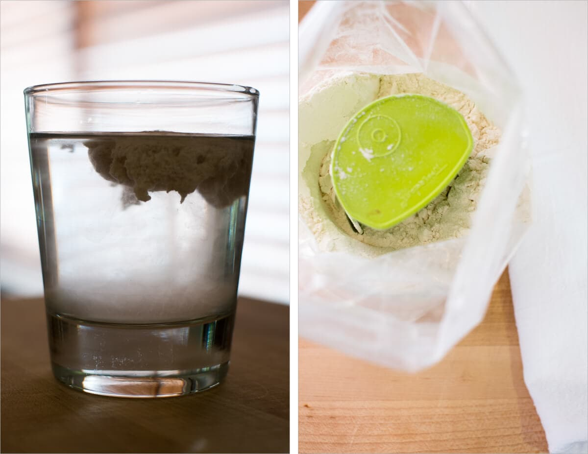 high hydration sourdough bread float test