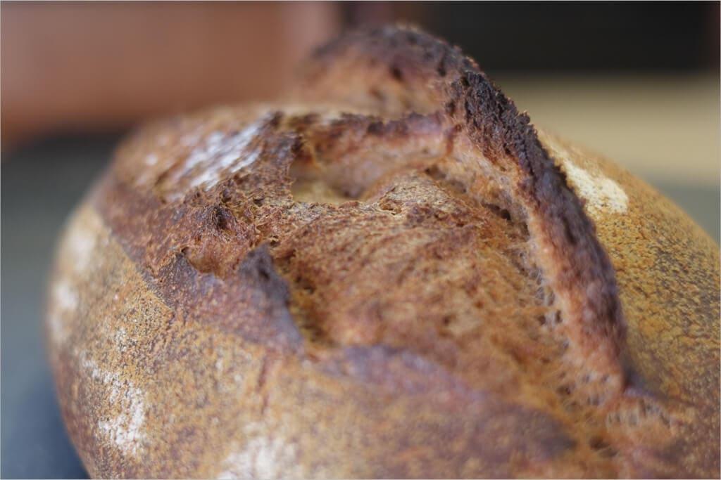 Ninety-five percent whole grain gringe