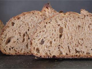 Ninety-five percent whole grain crumb shot