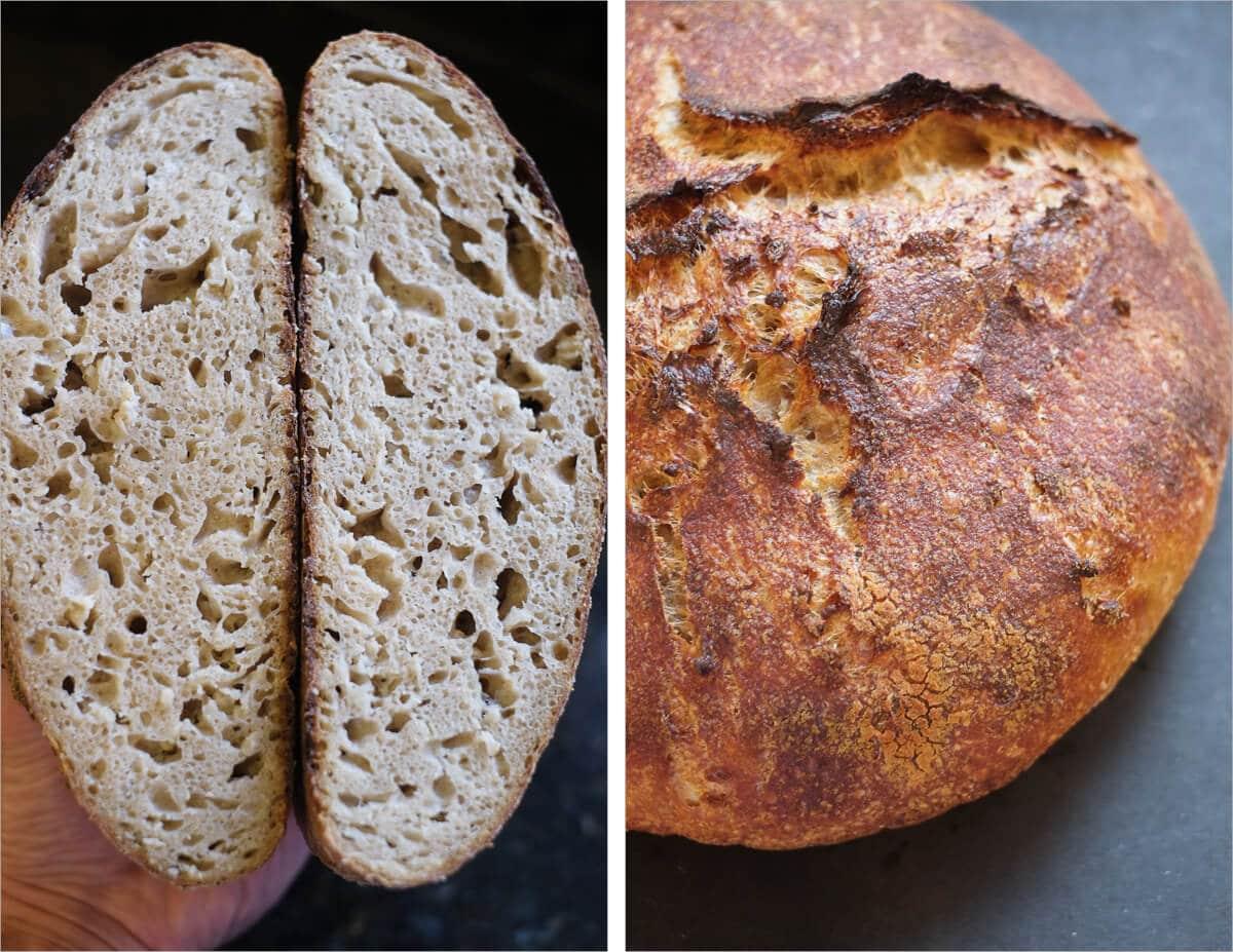 Oat porridge bread attempt #2