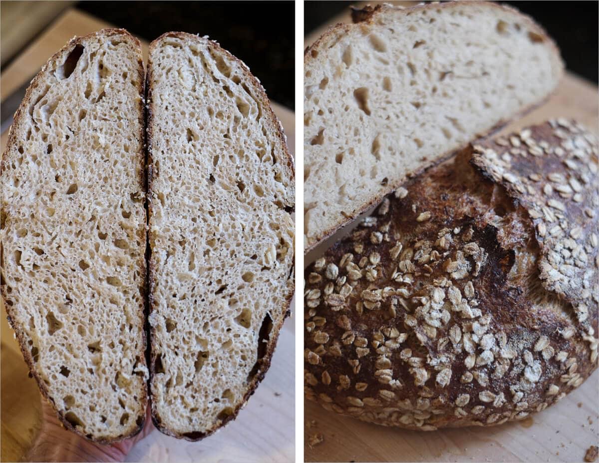 Oat porridge bread attempt #4