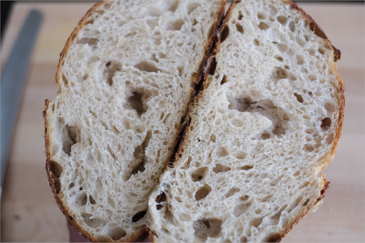 low levain and longer autolyse