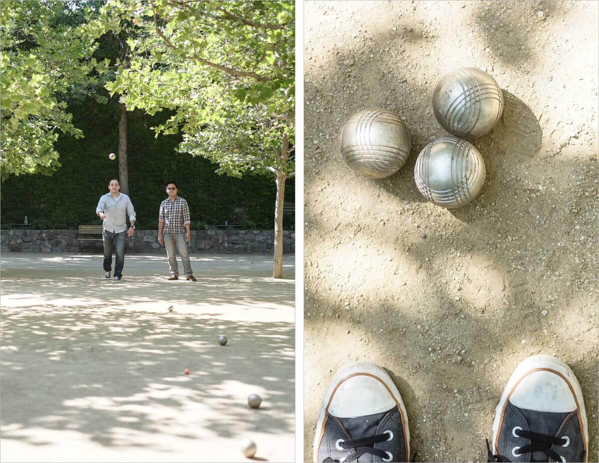 St. Supery winery and petanque