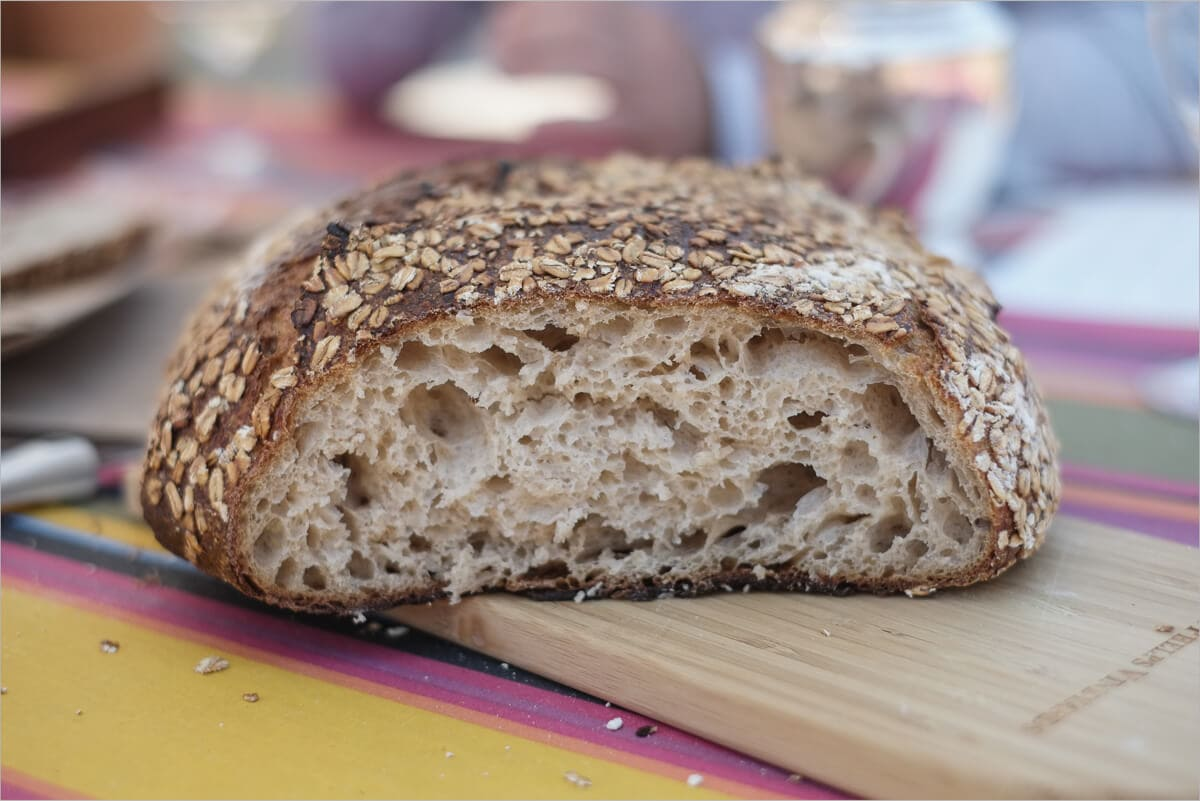 Tartine's Oat Porridge Sourdough