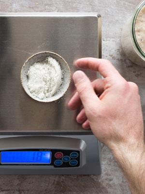 Baker's scale