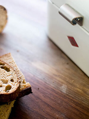 Keep your bread fresh with this bread box