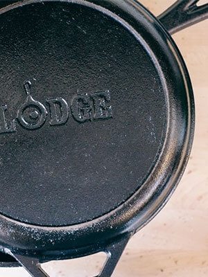 Lodge Cast Iron Dutch Oven Combo Cooker