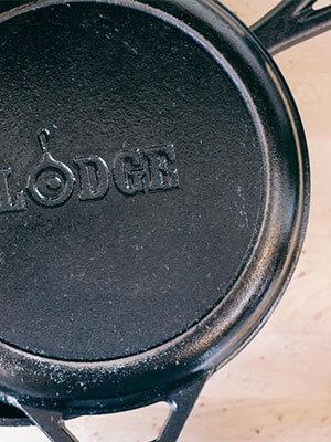 Lodge Cast Iron Dutch Oven Combo Cooker