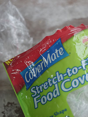 Plastic bowl covers CoverMate Stretch-to-fit