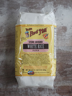 White Rice Flour for dusting proofing baskets