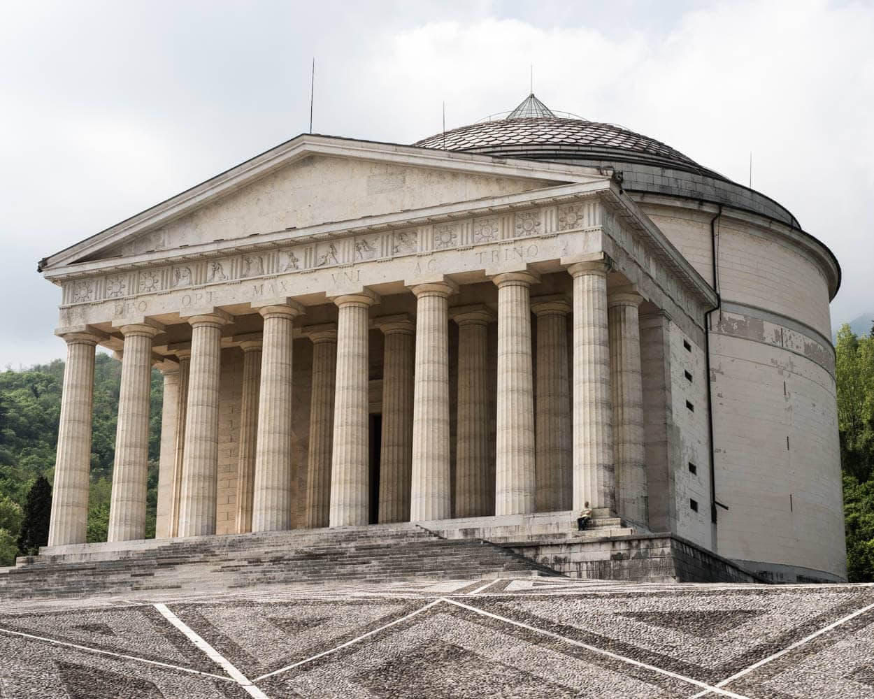 Canova's Temple in Possagno