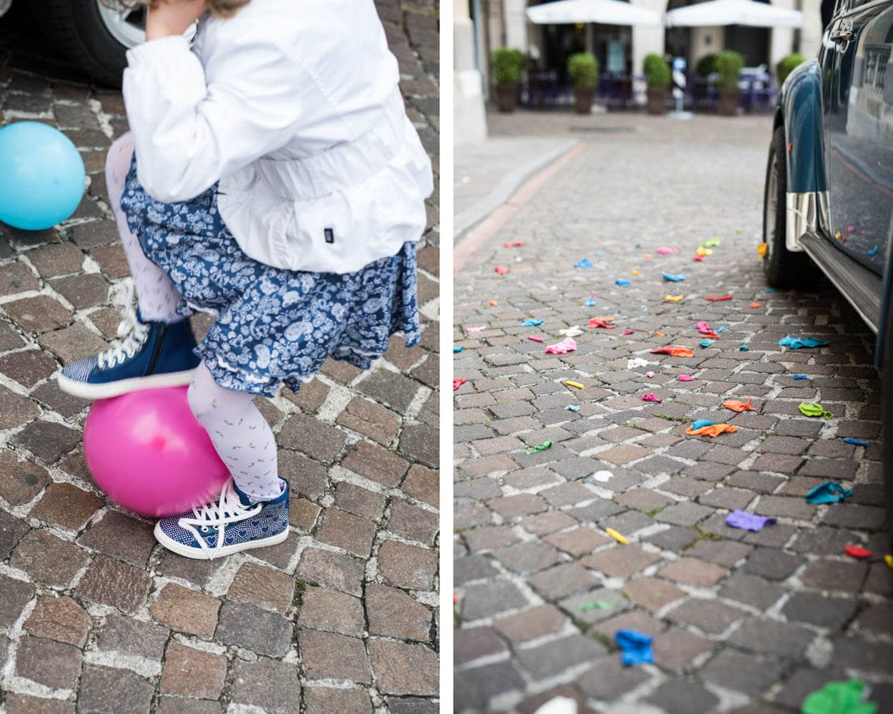 Kids and Baloons