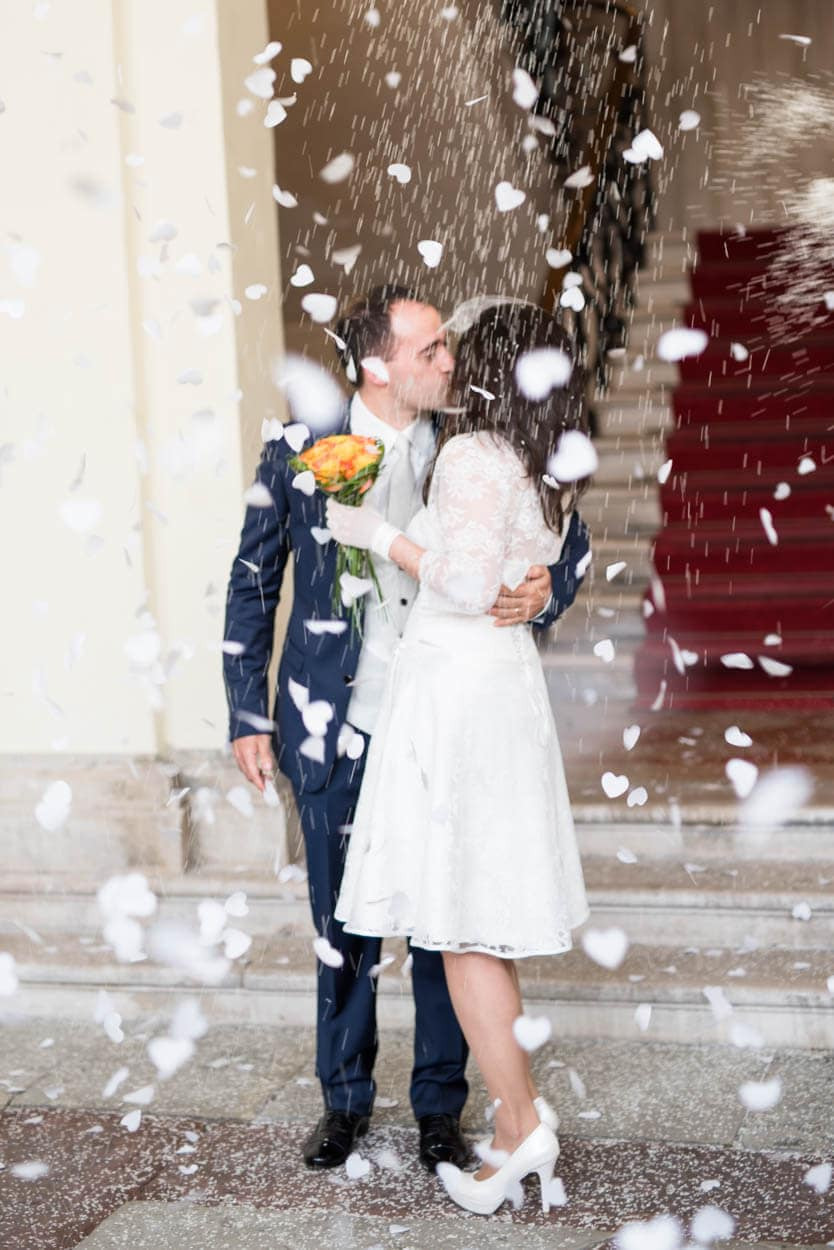 Just Married in Conegliano Italy