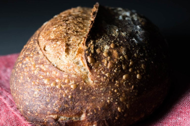 Baking with Josey Baker's Stoneground Red Wheat