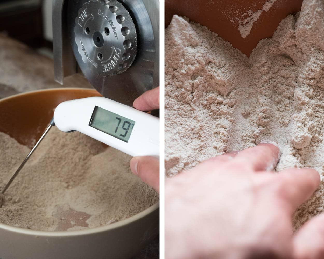 Flour at Room Temperature