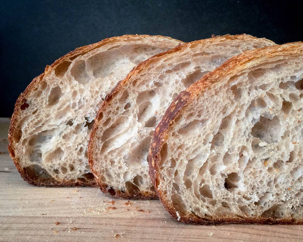 The Perfect Loaf Fresh Milled Whole Wheat Crumb