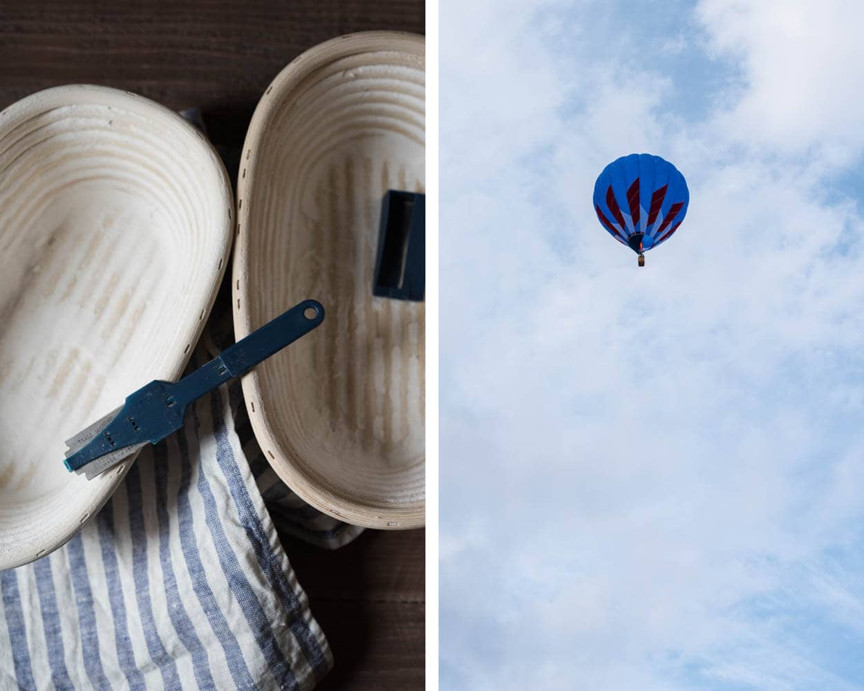 Balloon Fiesta and bannetons