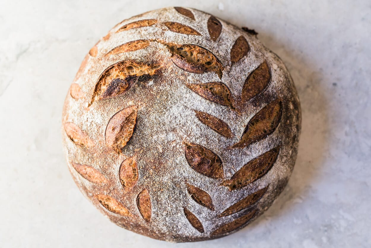 the perfect loaf spelt sourdough