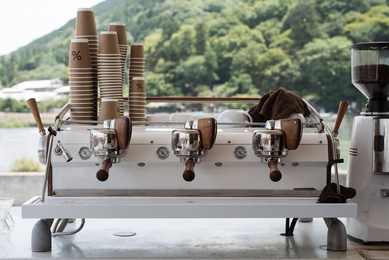 Cafe Arabica Slayer Espresso Machine