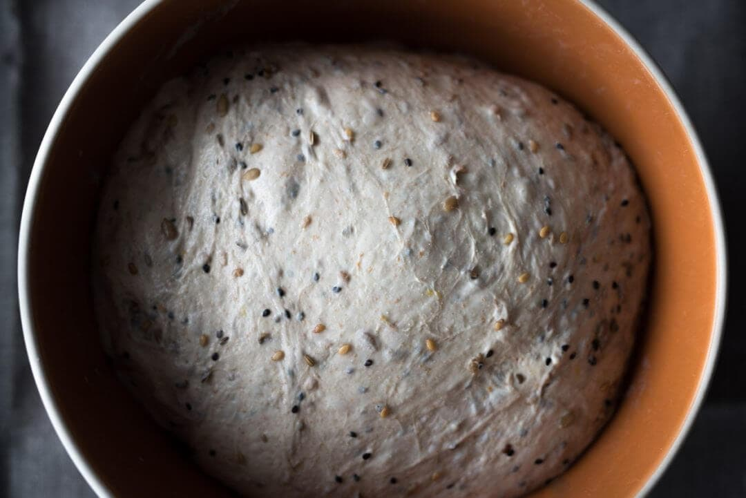 seeded sourdough bulk fermentation