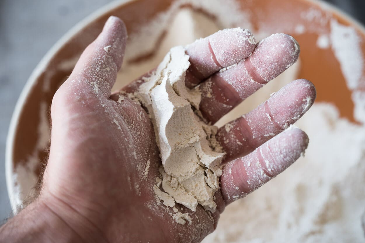 fresh milled flour