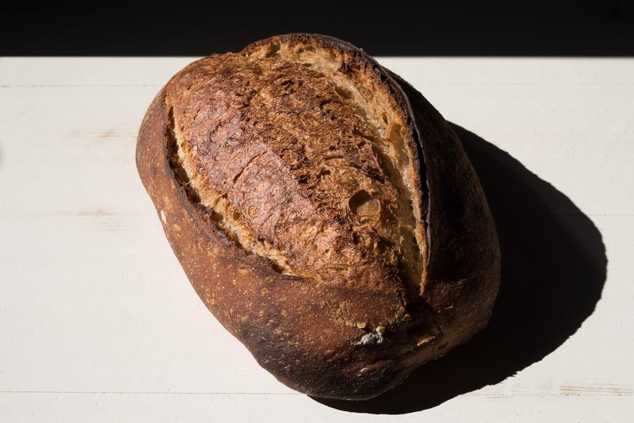 multigrain spelt sourdough crust