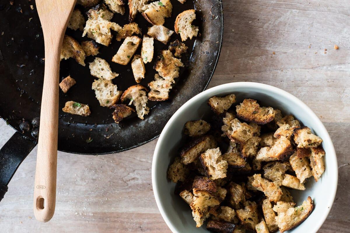 pan frying sourdough