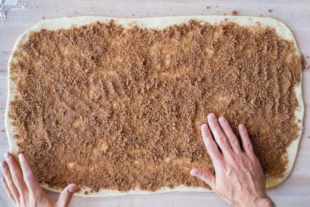 Cinnamon brown sugar spread