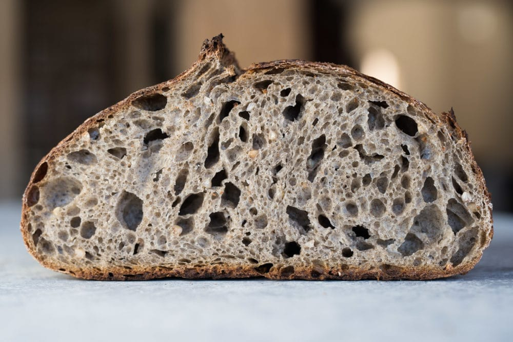 Sprouted Buckwheat Sourdough