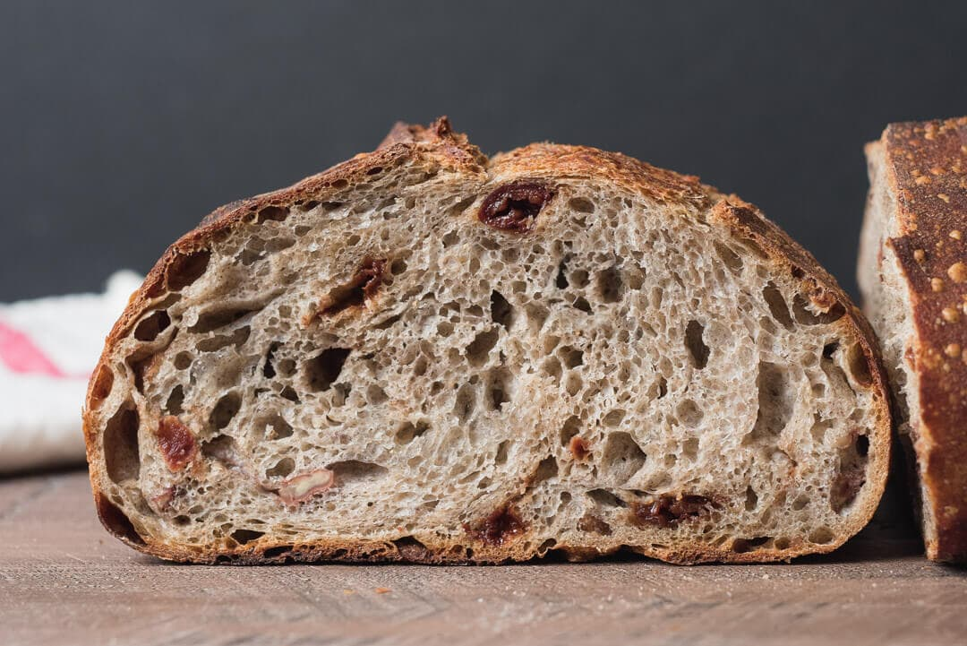 sour cherry toasted pecan buckwheat levain @ the perfect loaf