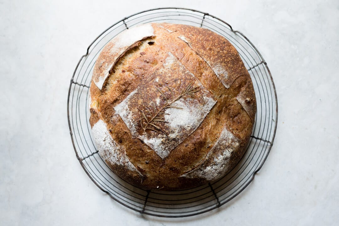 Sourdough with Roasted Potato and Rosemary (Potato Bread) via @theperfectloaf