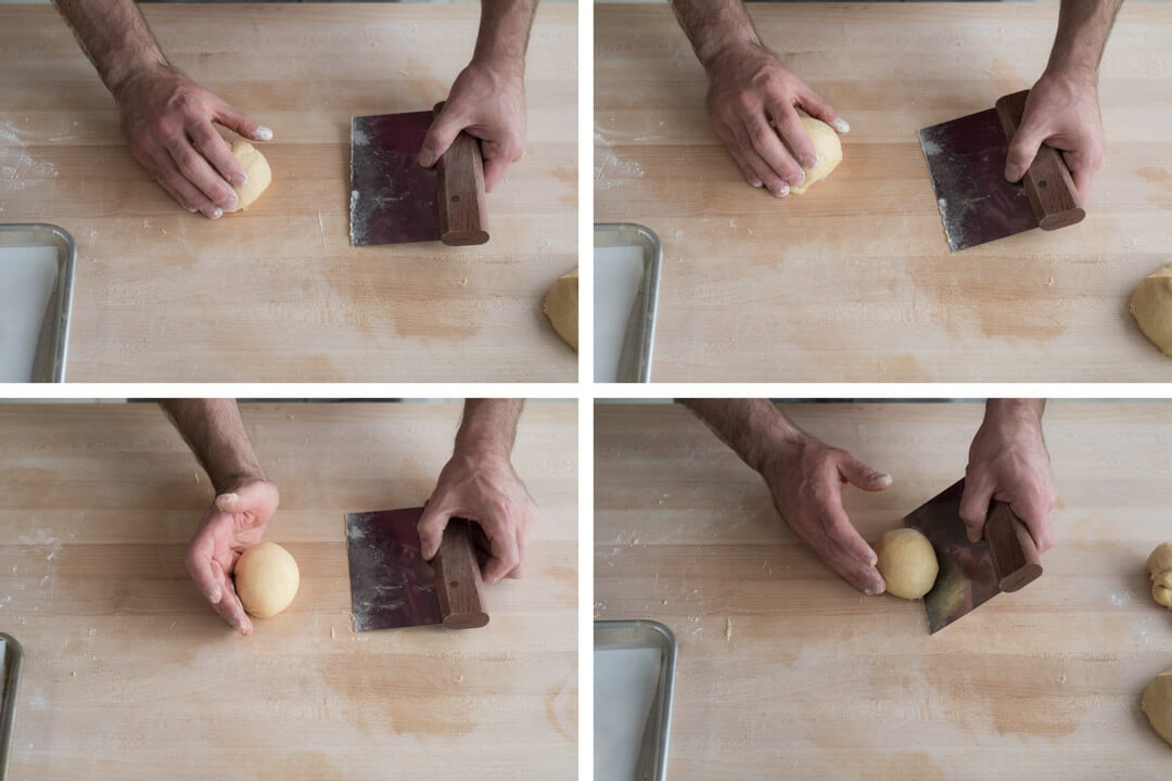 Brioche Hamburger Buns via @theperfectloaf