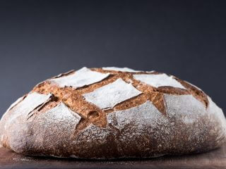 Einkorn Miche via @theperfectloaf