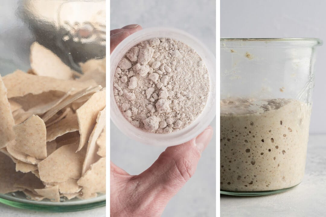 How to Store Sourdough Starter via @theperfectloaf