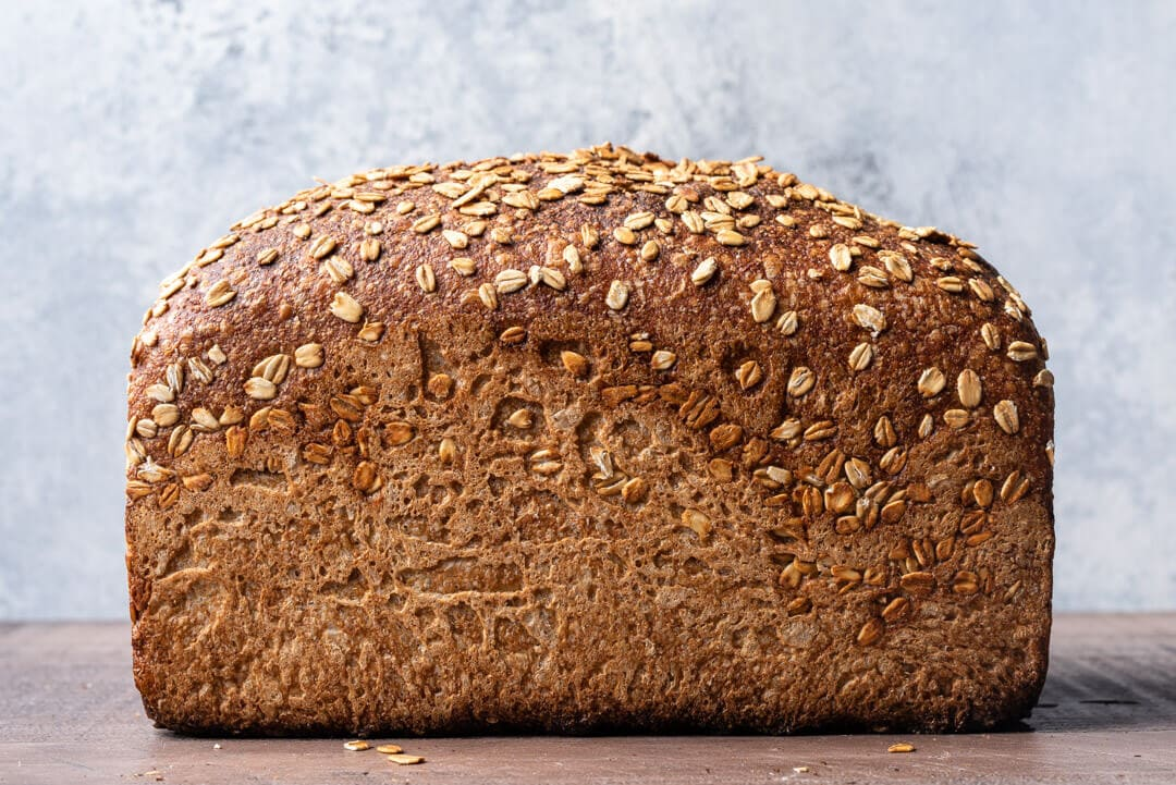 whole grain wheat and spelt pan bread the perfect loaf