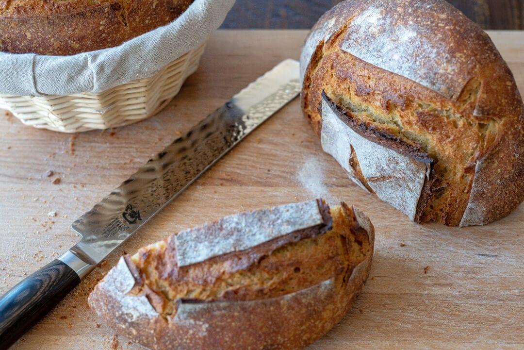 Einkorn crust