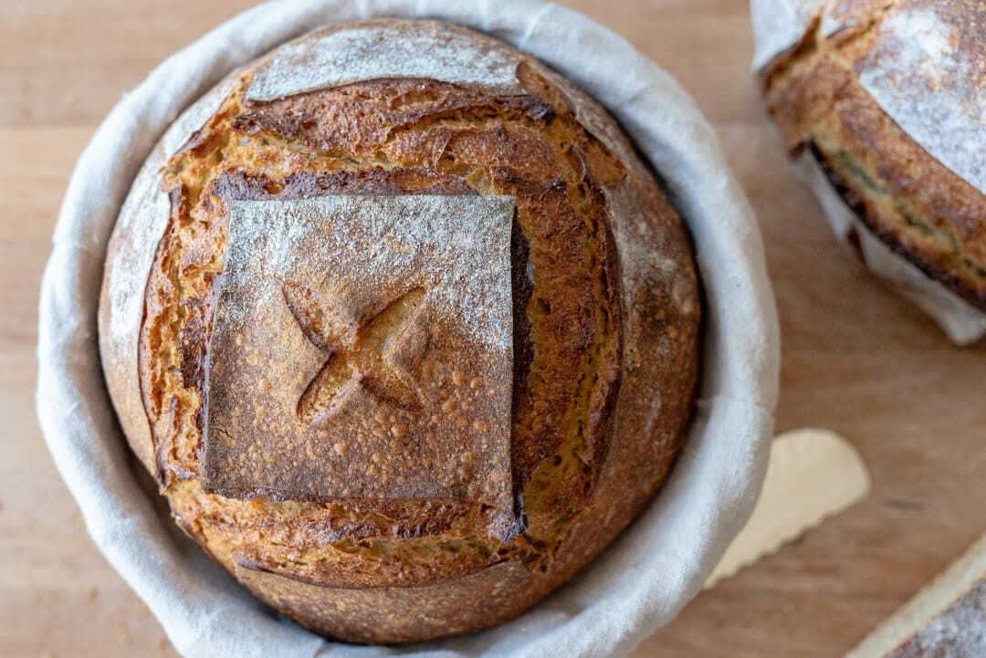 Einkorn Sourdough Bread via @theperfectloaf