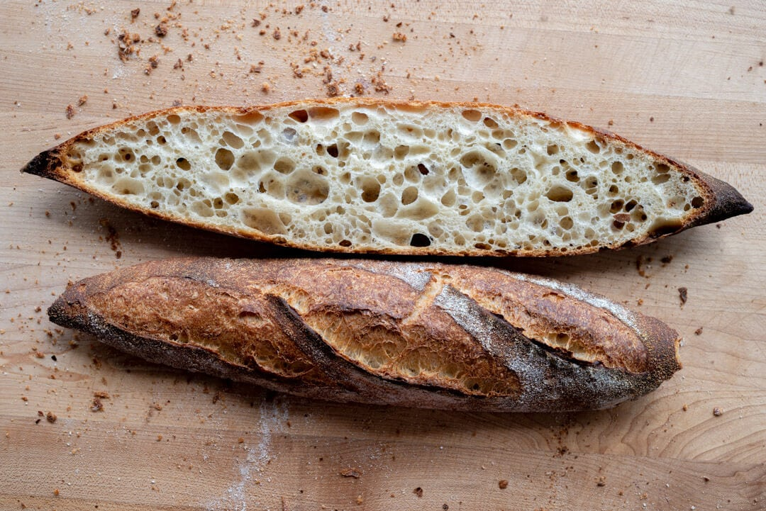 Sourdough Baguettes via @theperfectloaf