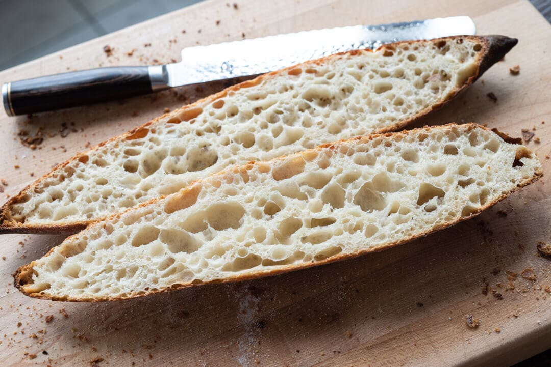 Sourdough Baguettes via @theperfectloaf